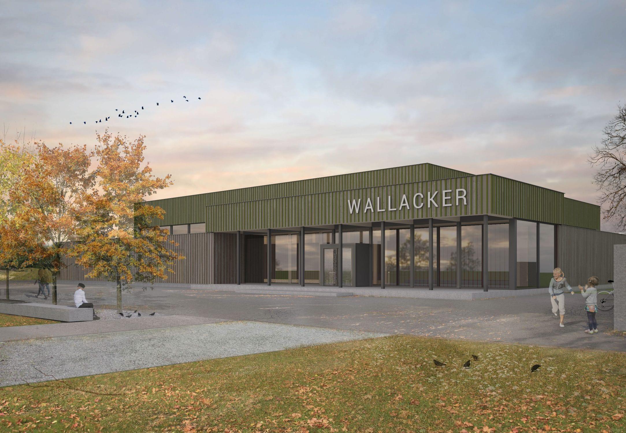 Stierli Architekten AG Aarau — Projekt Sporthalle Staufen