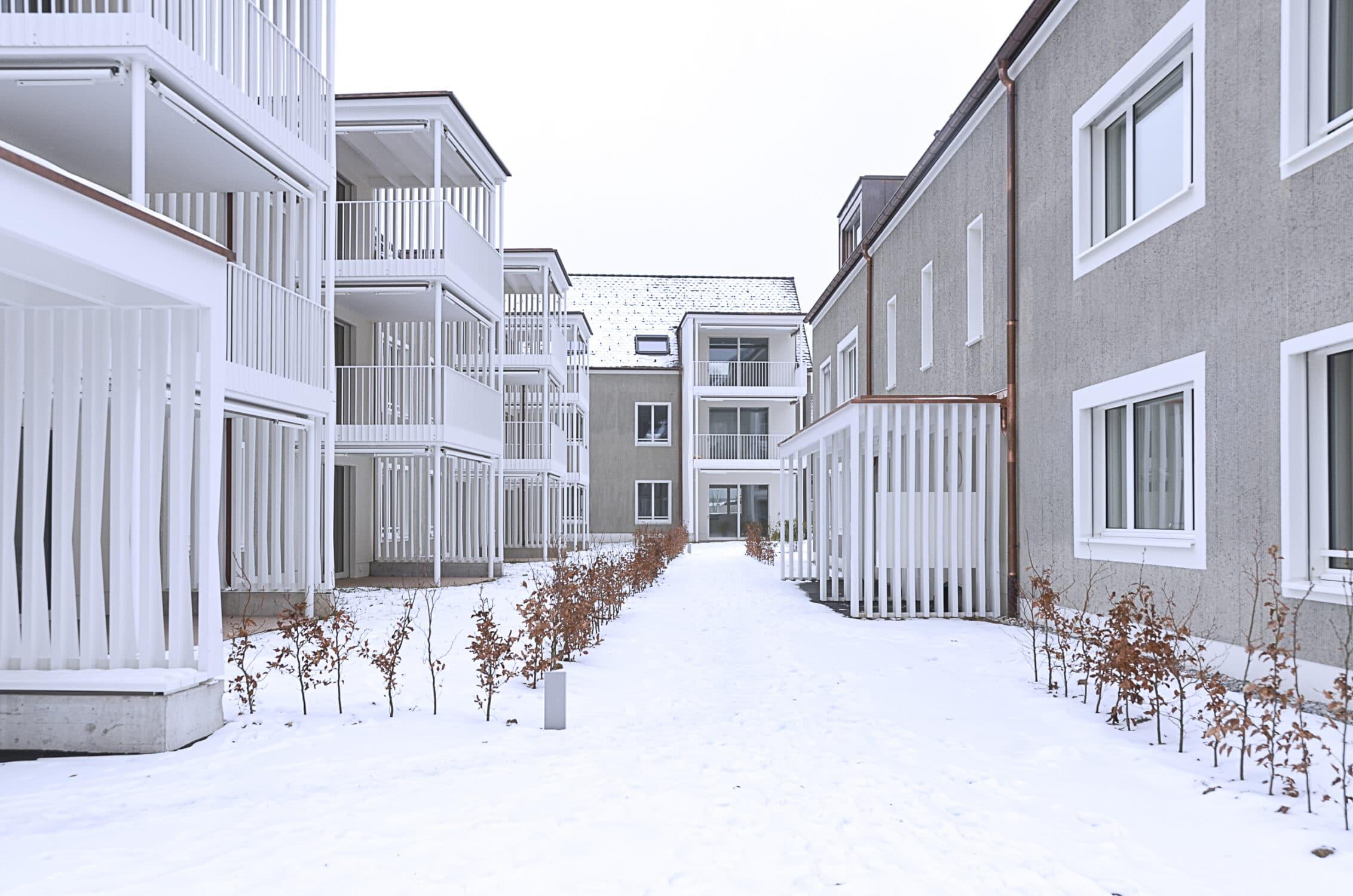 Stierli Architekten AG Aarau | Wohnüberbauung Hausen
