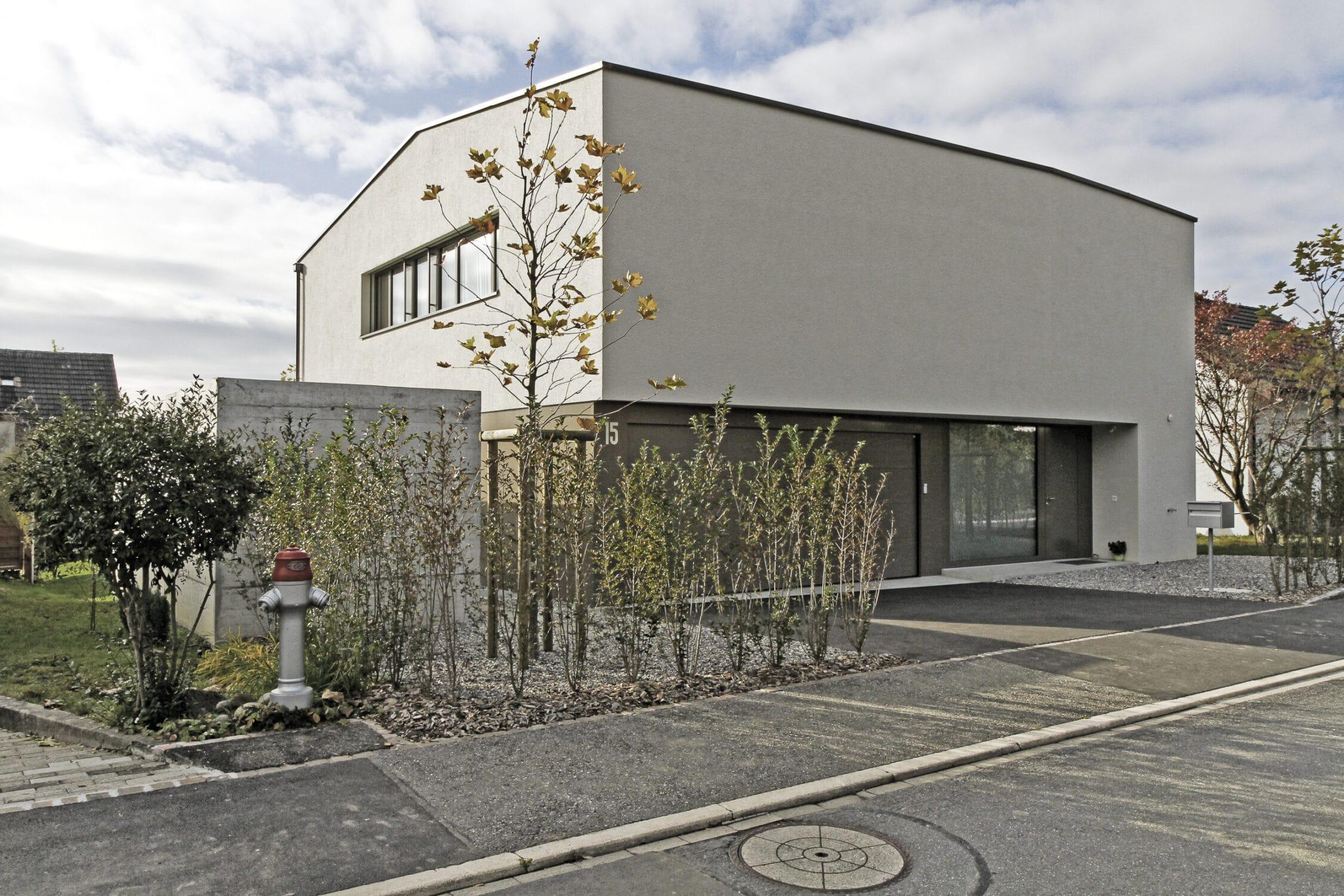 Stierli Architekten AG Aarau — Wohnhaus Unterentfelden